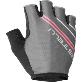 Castelli Dolcissima 2 Gloves Damen dark grey/giro pink